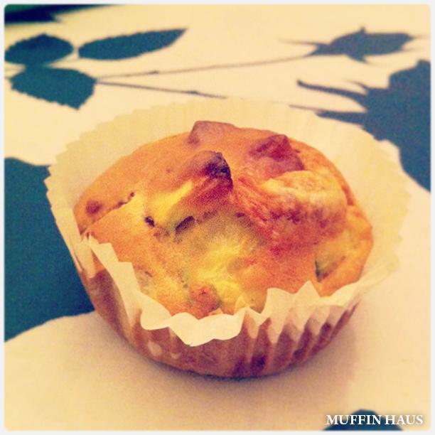 Muffin philadelphia e zucchine